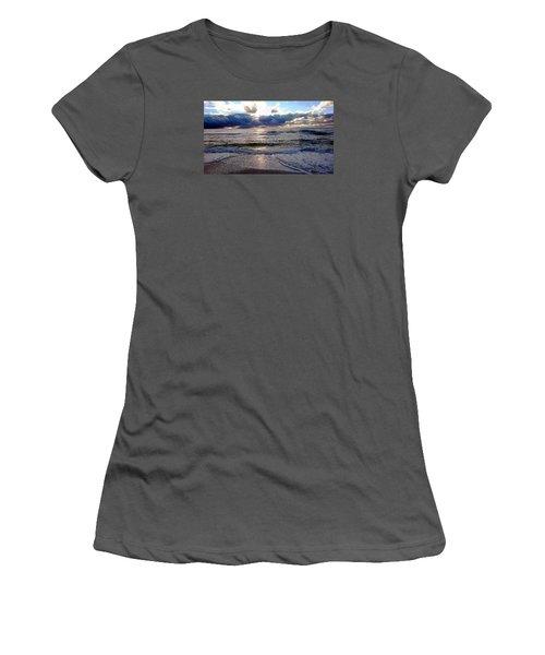 Storm Clouds 2 Women's T-Shirt (Junior Cut) by Vicky Tarcau