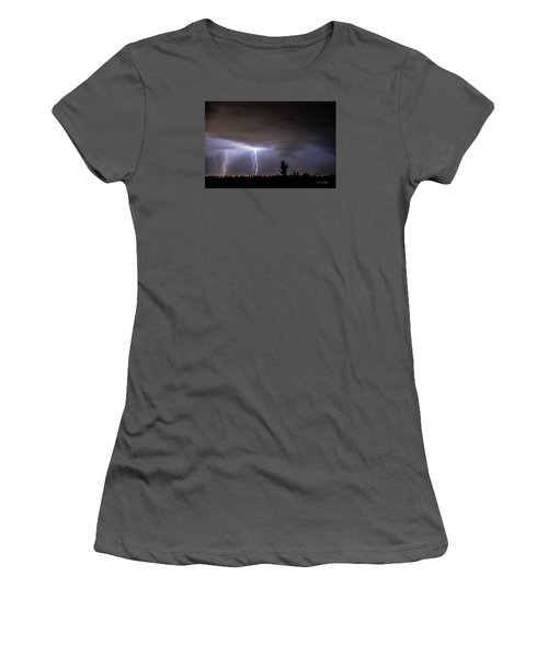 Stormy Night Women's T-Shirt (Athletic Fit)