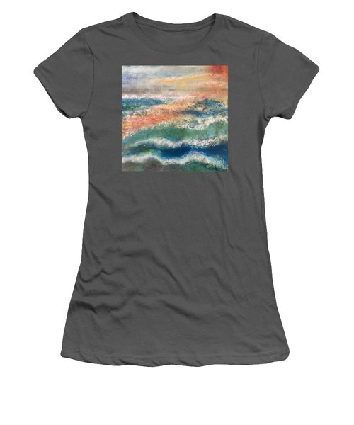 Laguna Sunset Women's T-Shirt (Athletic Fit)