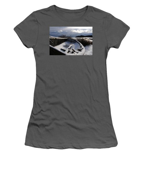 Stormy Weather Women's T-Shirt (Junior Cut) by Sandra Updyke