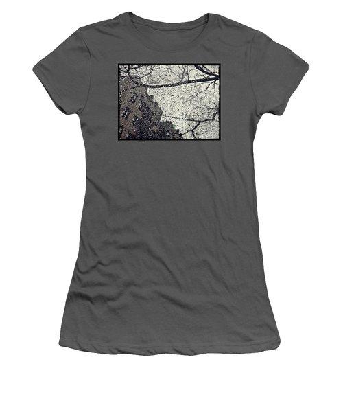 Stormy Weather Women's T-Shirt (Junior Cut) by Sarah Loft
