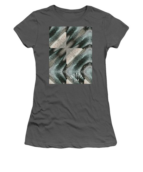 Strange Four Corner Art Women's T-Shirt (Athletic Fit)