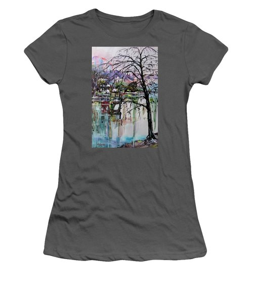 Strange Tree Women's T-Shirt (Athletic Fit)
