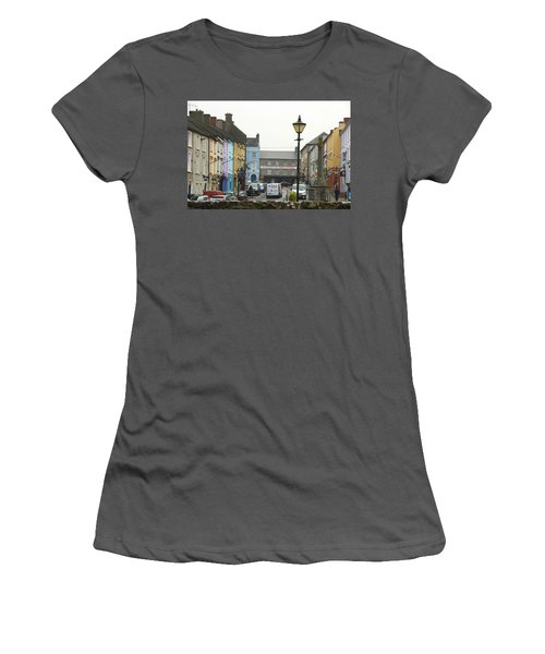 Women's T-Shirt (Junior Cut) featuring the photograph Streets Of Cahir by Marie Leslie