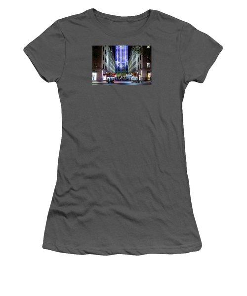 Rockefeller Center Women's T-Shirt (Athletic Fit)
