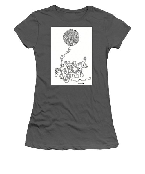 String Energy 2 Women's T-Shirt (Athletic Fit)