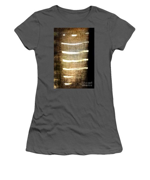 Stripes And Texture Women's T-Shirt (Athletic Fit)