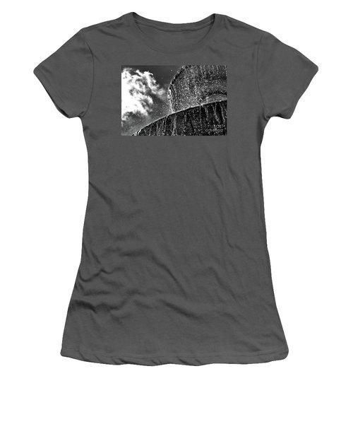 Students Fountain Women's T-Shirt (Junior Cut) by Juergen Klust