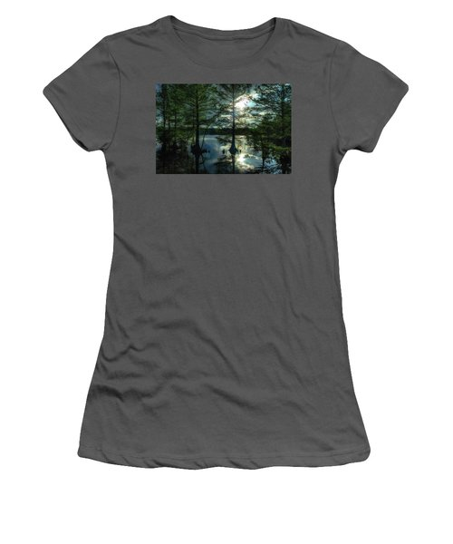 Stumpy Lake Women's T-Shirt (Athletic Fit)