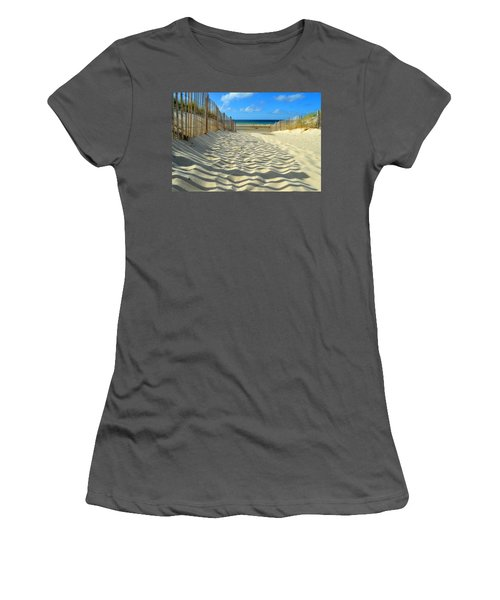 Sultry September Beach Women's T-Shirt (Athletic Fit)