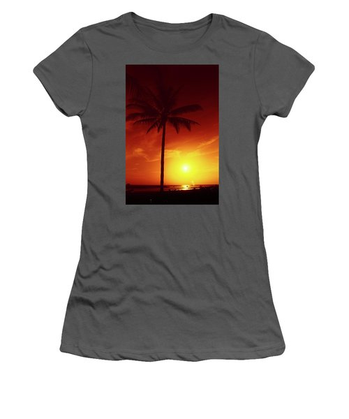 Summer By The Sea Women's T-Shirt (Athletic Fit)
