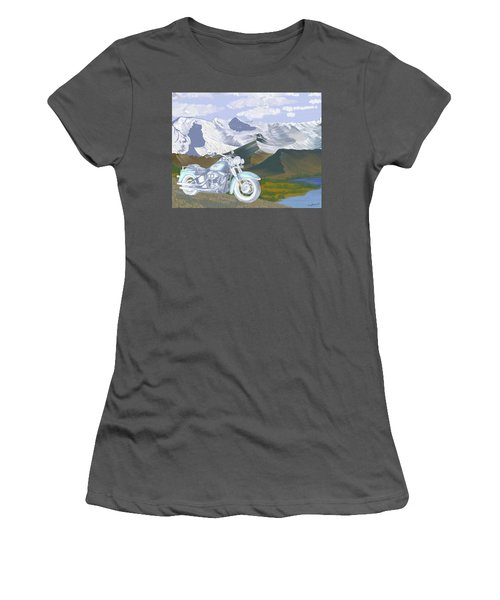 Summer Ride Women's T-Shirt (Athletic Fit)