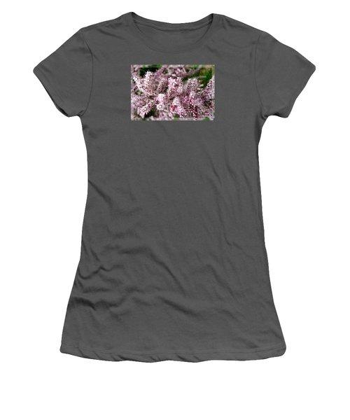 Women's T-Shirt (Junior Cut) featuring the photograph Summer Tamarisk by Jean Bernard Roussilhe