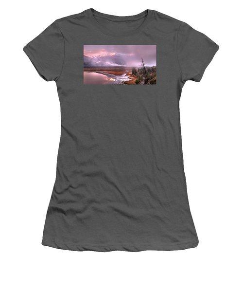 Women's T-Shirt (Junior Cut) featuring the photograph Sun Dance by John Poon