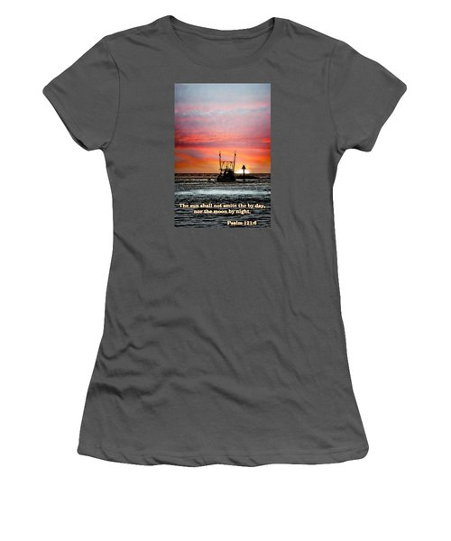 Sun Nor Moon Women's T-Shirt (Athletic Fit)