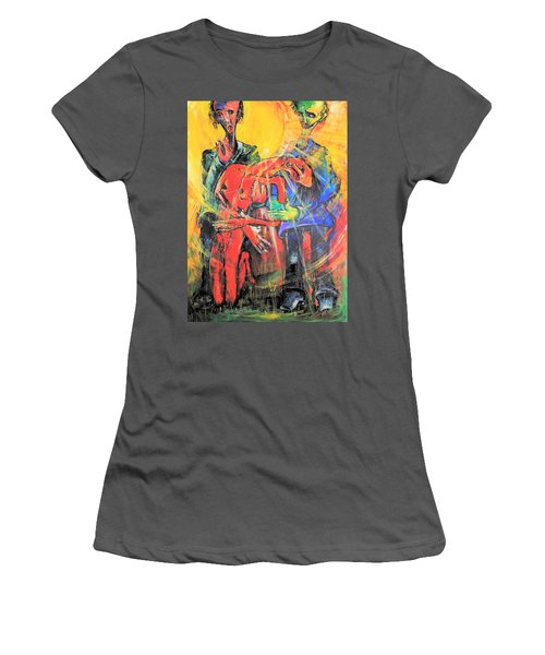 Sun-swirled Hope And Salvation Women's T-Shirt (Athletic Fit)