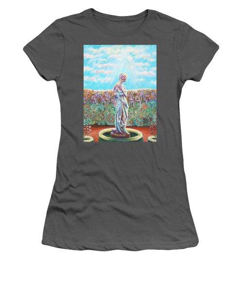 Women's T-Shirt (Junior Cut) featuring the painting Sunbeam by Elizabeth Lock
