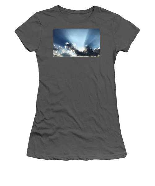 Sunburst Women's T-Shirt (Athletic Fit)