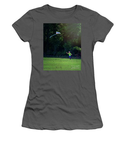 Sunday Funday At Honor Heights In Vertical Women's T-Shirt (Athletic Fit)
