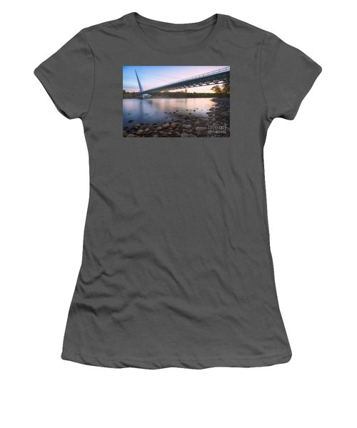 Sundial Bridge 7 Women's T-Shirt (Athletic Fit)