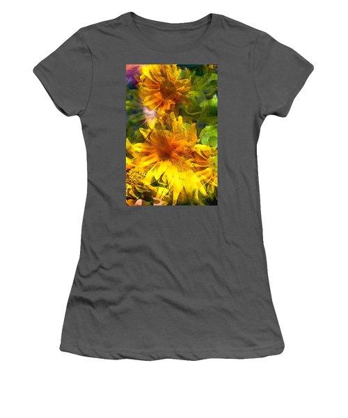 Sunflower 6 Women's T-Shirt (Athletic Fit)
