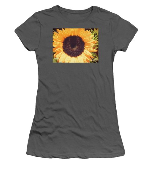 Sunflower Women's T-Shirt (Junior Cut) by Scott and Dixie Wiley