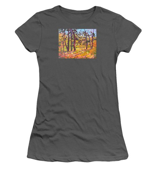Sunny Place Women's T-Shirt (Athletic Fit)