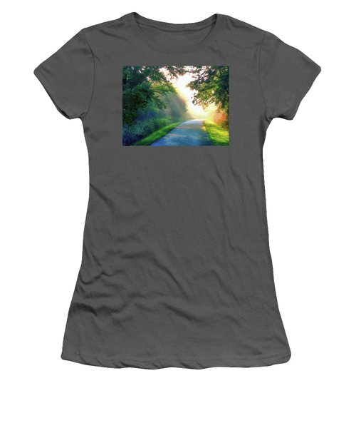 Sunny Trail Women's T-Shirt (Athletic Fit)