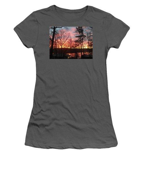 Sunrise At Carolina Trace Women's T-Shirt (Athletic Fit)