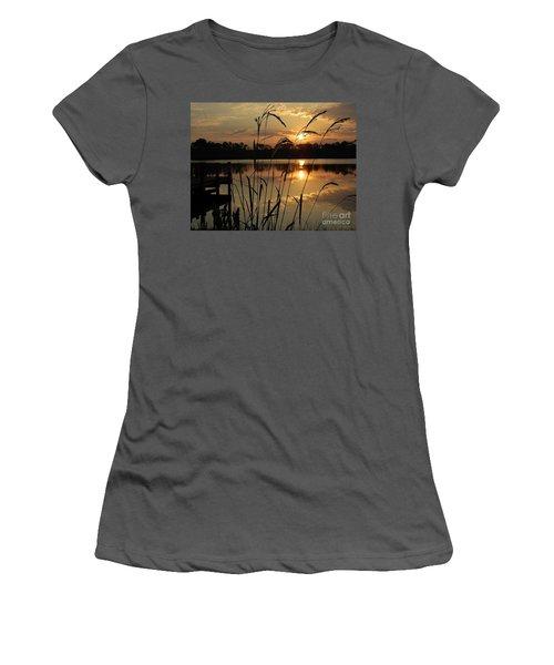 Sunrise At Grayton Beach Women's T-Shirt (Athletic Fit)