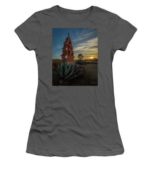 Sunrise At San Miguel Women's T-Shirt (Athletic Fit)