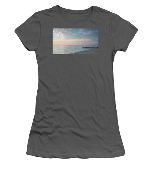 Sunrise At Sandbridge, Va Women's T-Shirt (Athletic Fit)