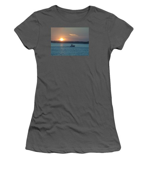 Sunrise Bassing Women's T-Shirt (Junior Cut) by  Newwwman