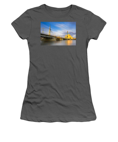 Sunrise In Winnipeg Women's T-Shirt (Athletic Fit)