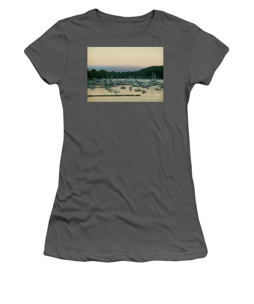 Sunrise Over Mallets Bay Variations - Three Women's T-Shirt (Athletic Fit)