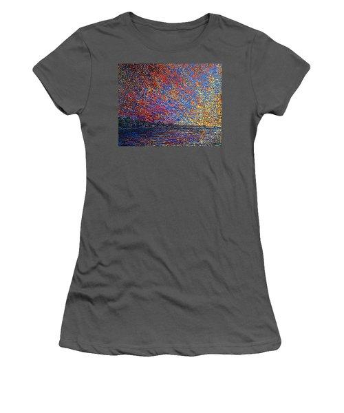 Sunrise Over St Andrews Nb Women's T-Shirt (Athletic Fit)
