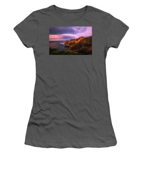 Sunrise Pelican Cove Beach Women's T-Shirt (Athletic Fit)