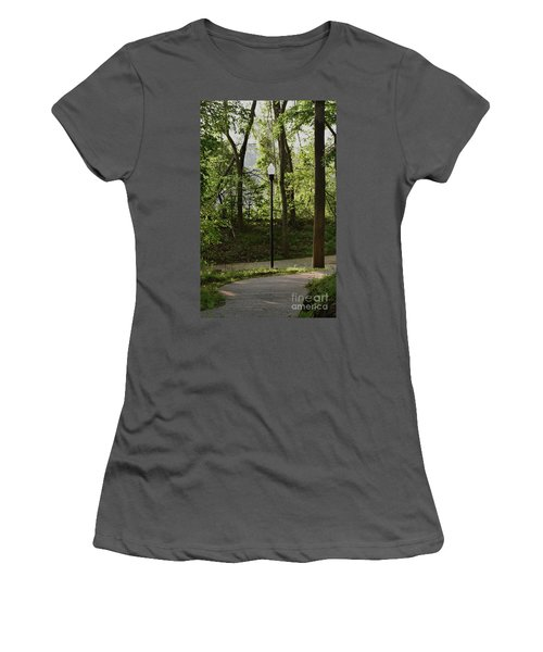 Women's T-Shirt (Junior Cut) featuring the photograph Sunrise Service by Skip Willits