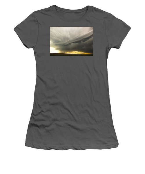 Sunset At Dalhart Texas Women's T-Shirt (Junior Cut) by Ryan Crouse