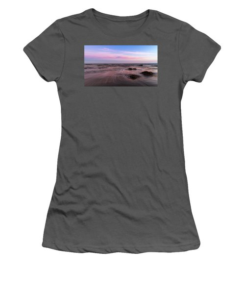 Sunset At The Atlantic Women's T-Shirt (Junior Cut) by Andreas Levi