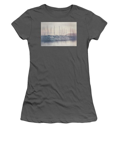 Sunset At The Marina Women's T-Shirt (Athletic Fit)