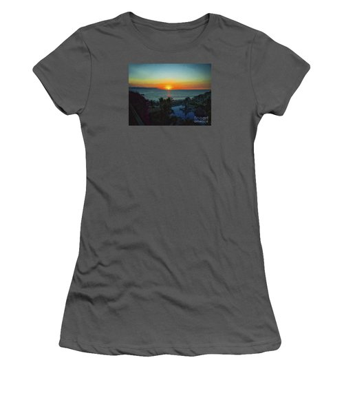 Sunset In Vallarta  ... Women's T-Shirt (Athletic Fit)