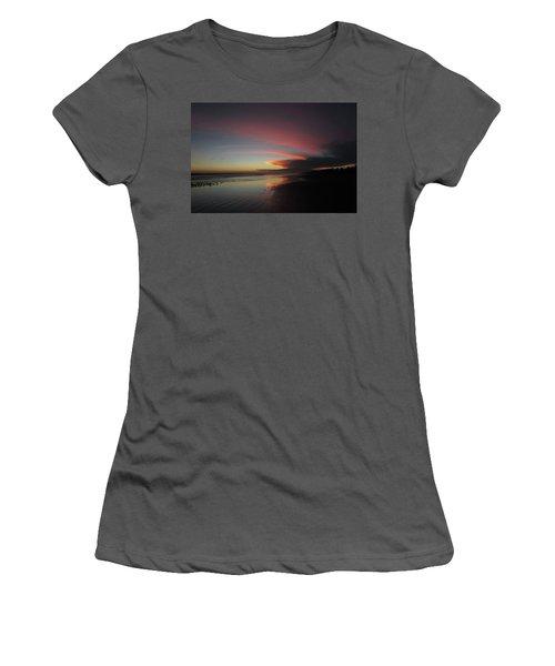 Sunset Las Lajas Women's T-Shirt (Athletic Fit)