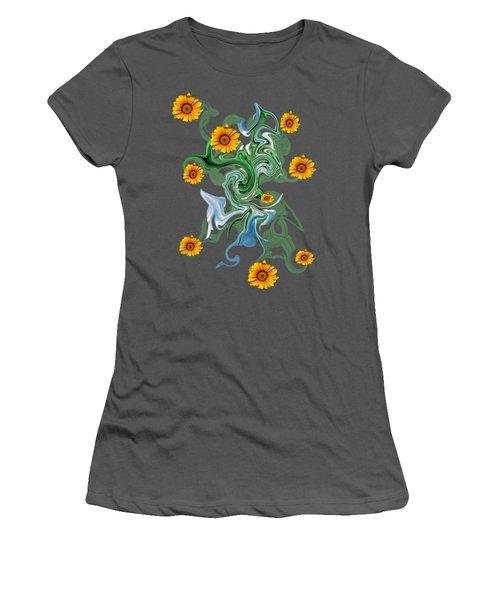 Sunspots Women's T-Shirt (Athletic Fit)