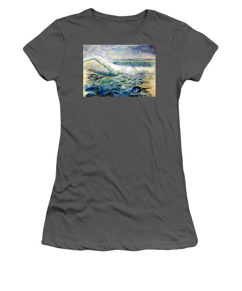 Surf 2 Women's T-Shirt (Athletic Fit)