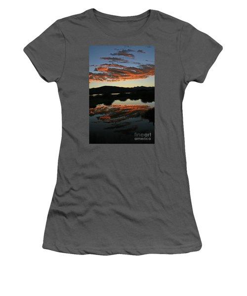 Surreal Sunrise Women's T-Shirt (Athletic Fit)