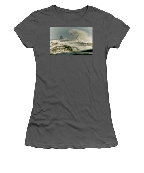Women's T-Shirt (Junior Cut) featuring the photograph Surrender by Everet Regal