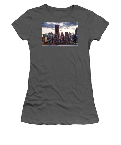 Surrounded By The City Women's T-Shirt (Athletic Fit)