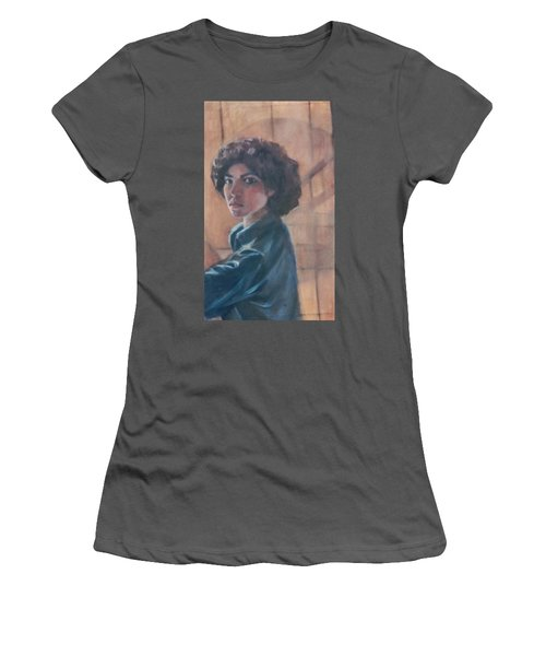 Susan Berger - Suzn Smith - Self Portrait Women's T-Shirt (Athletic Fit)