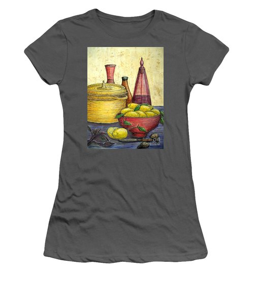 Sustenance Women's T-Shirt (Athletic Fit)
